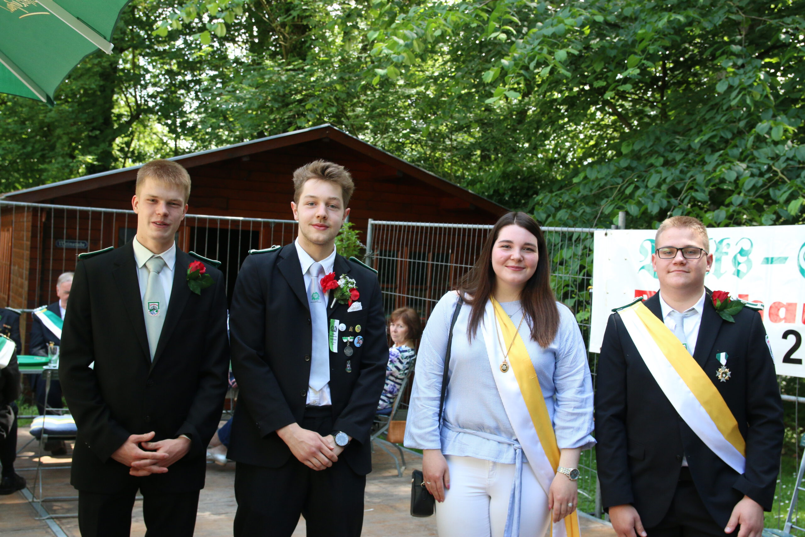 Unser neuer Jugendkönig heißt Frederick Meyer!